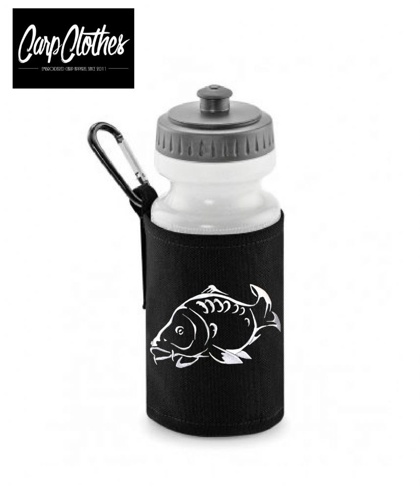 001 PRINTED CARP WATER BOTTLE & HOLDER